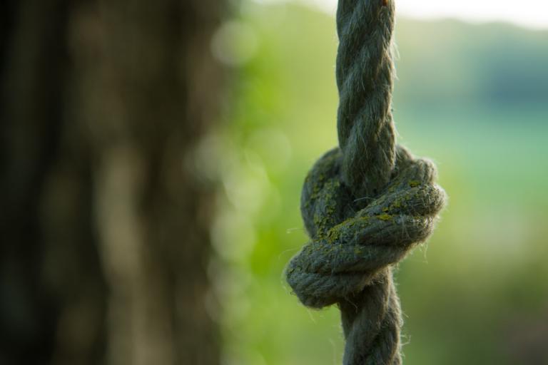 la corde à noeuds
